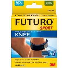 【3M】 FUTURO SPORT 可调式稳定型髌骨带-09189
