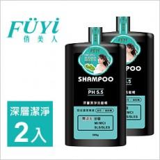 【俏美人】 深层洁净洗发精500g 2入/组