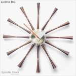 B19008【a.cerco】軸心掛鐘 Spindle Clock
