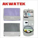 ~AKWATEK~旅行收納盥洗包(AK~08016^)~ 2入^(顏色 ^)