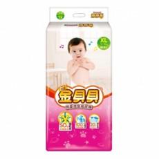 頂級金貝貝棉柔透氣紙尿褲XL(44片x4包/箱)