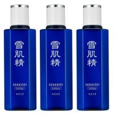 KOSE 高絲 雪肌精 化妝水100mL<三入/組>(裸裝瓶) - 短期品
