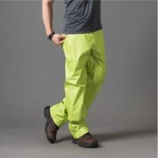 【eVent】3層 15D極輕量戶外頂級品高透氣機能防水長褲(蘋果綠)