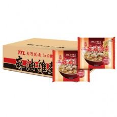 【台酒】紅標米酒麻油雞袋麵200g*12包