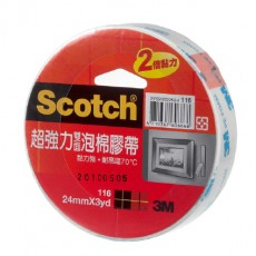 【3M】116超強雙面泡棉(24mm)