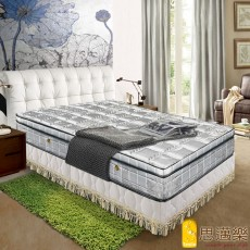 【smile思邁樂】旗艦版竹炭纖維抗菌除臭三線獨立筒床墊6X6.2尺(雙人加大)860150