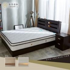 【藤原傢俬】3層收納床頭三件式房間組(3層收納床頭+3分床底+2抽櫃)G1025
