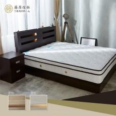 【藤原傢俬】3層收納床頭兩件式房間組(3層收納床頭+3分床底)G1022