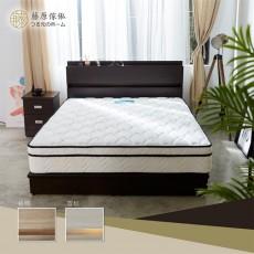 【藤原傢俬】兩件式房間組(2層收納床頭+3分床底)G1022