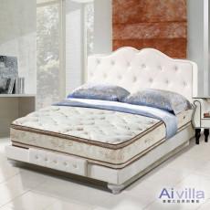【Ai-villa】六星級舒柔布正四線雙面膠獨立筒床墊(雙人加大)860092