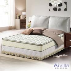 【Ai-villa】正三線立體加厚緹花布獨立筒床墊(雙人加大)860095