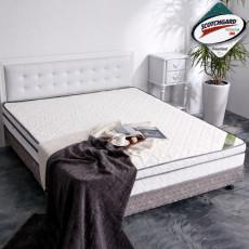【亞珈珞】二代超透氣乳膠+3M防潑水三線獨立筒床墊(雙人5X6.2尺)860248