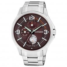 CITIZEN Eco-Drive 時尚光動能三環腕錶(AP4000-58X)