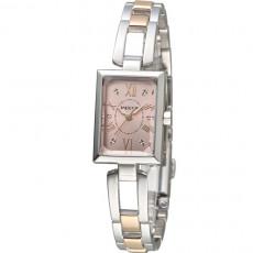 CITIZEN Wicca 雙色蜜糖女孩腕錶(BE1-038-91)