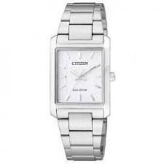 CITIZEN Eco-Drive方形光動能女用腕錶(EP5910-59A)