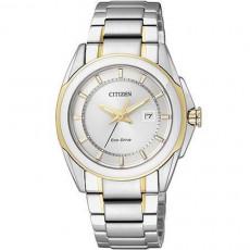 CITIZEN Eco-Drive 光燦完美線條時尚女用腕錶(EW1515-51A)