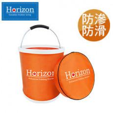 Horizon 天際線 強化折疊野營水桶 13L 橘