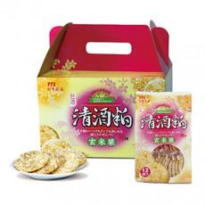 【台酒】清酒粕玄米菓禮盒-辣味150g*6包/箱