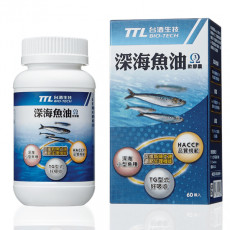 【台酒】台酒生技深海魚油膠囊60粒/瓶