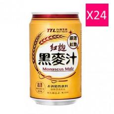 【台酒】0.33公升罐裝TTL紅麴黑麥汁(24入)