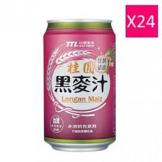【台酒】0.33公升罐裝TTL桂圓黑麥汁 (24入)
