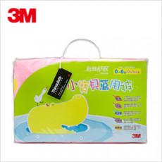 【3M】新絲舒眠-小寶貝萬用被(河馬)+枕心