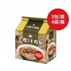 【台酒】花雕酸菜牛肉袋麵200g*12包