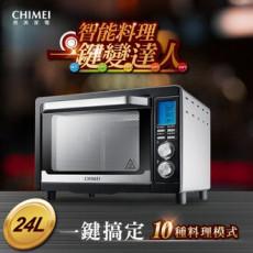 【CHIMEI 奇美】24L微電腦智能電烤箱EV-24S0SD(請使用FB或LINE登入購買)